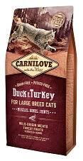 """קרנילאב חתול בוגר מגזע גדול בטעם ברווז והודו 2 ק""""ג"""
