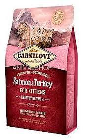 """קרנילאב לגורי חתולים בטעם סלמון והודו  6 ק""""ג"""