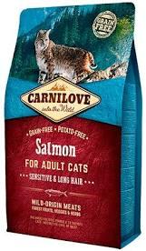"""קרנילאב לחתול בוגר בטעם סלמון 6 ק""""ג"""