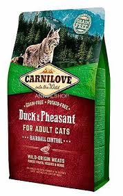 """קרנילאב לחתול בוגר היירבול בטעם ברווז ופסיון 6 ק""""ג"""