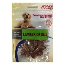 אודוג חטיף לכלב ODOG – כדורי כבש ואורז