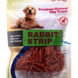 אודוג חטיף לכלב ODOG – מיני רצועות ארנבת