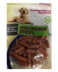אודוג חטיף לכלב ODOG – מקלות מיני בטעם עוף