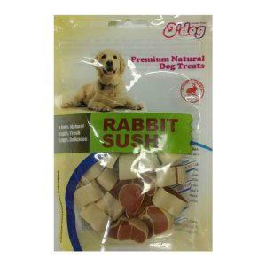 אודוג חטיף לכלב ODOG – סושי ארנבת