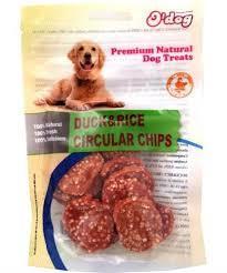 אודוג חטיף לכלב ODOG – עיגולי צ'יפס ברווז ואורז