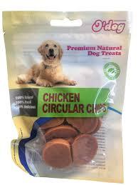 אודוג חטיף לכלב ODOG – עיגולי צ'יפס עוף