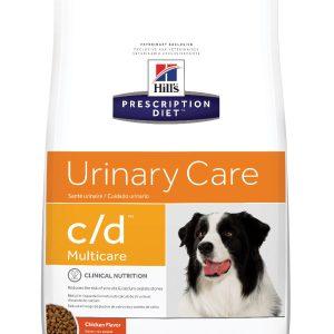 """הילס מזון רפואי C/D לכלב  12 ק""""ג"""