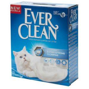 חול לחתול אבר קלין תכלת בעל עוצמה מחוזקת