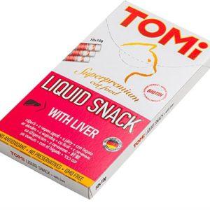 טומי חטיף נוזלי בטעם כבד 8 יחידות