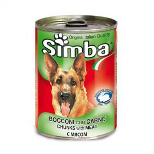 סימבה שימורי בשר לכלב 415 גרם