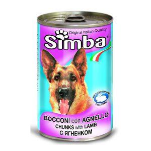 סימבה שימורי כבש לכלב 415 גרם