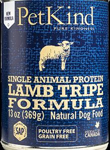 פטה כבש סינגל (חלבון יחיד) וקירשה ללא דגנים 375 גרם