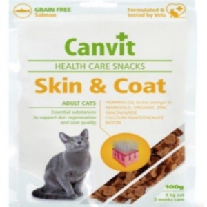 קנוויט חטיף לחתול – רפואי לבריאות העור והפרווה